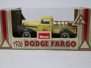 HOME HARDWARE 1936 DODGE FARGO TRUCK BANK 1 25