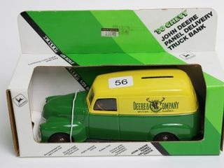 JOHN DEERE 1950 S PANEl DElIVERY TRUCK BANK