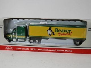 BEAVER lUMBER PETERBIlT 379 SEMI BANK SPEC CAST