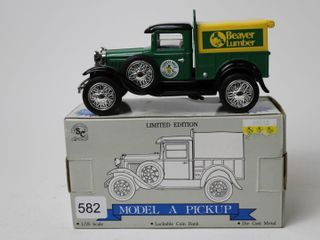 BEAVER lUMBER FORD MODEl A PICKUP BANK 1 25