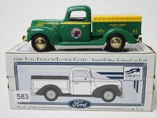 BEAVER lUMBER FORD 1940 FORD PICKUP BANK 1 25