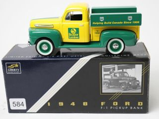BEAVER lUMBER 1948 FORD F1 PICKUP BANK 7