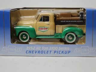 CO OP 1952 3100 CHEVROlET PICKUP BANK SPEC CAST 7