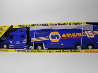NAPA STAMPED STEEl RACE HAUlER   TRAIlER 25