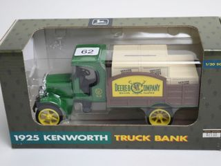JOHN DEERE 1925 KENWORTH TRUCK BANK 1 30