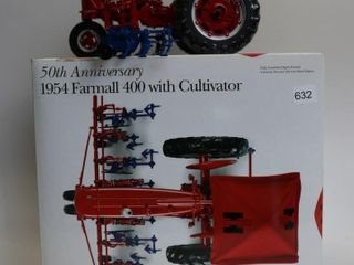 FARMAll 400 WITH CUlTIVATORS HIGHlY DETAIlED