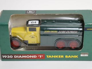 JOHN DEERE 1930 DIAMOND  T  TRANKER BANK 1 40