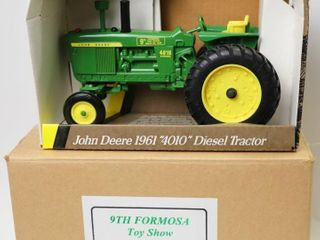 JOHN DEERE GREEN 4010 TRACTOR 9TH FORMOSA TOY