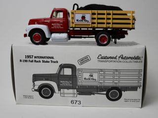 MARBlE KING 1957 INTERNATIONAl R 190 STAKE TRUCK