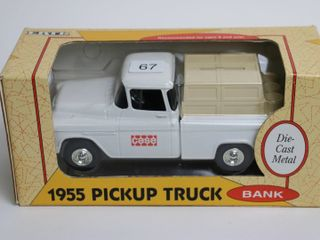 CASE 1955 PICK UP TRUCK BANK 1 25 ERTl