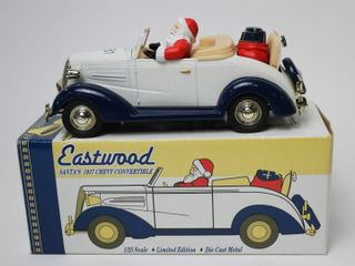 SANTA S 1937 CHEVY CONVERTIBlE BANK 1 25