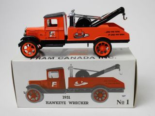 FRAM 1931 HAWKEYE WRECKER BANK 7