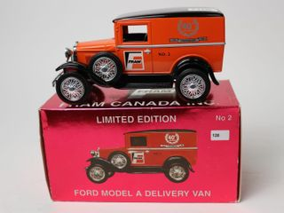FRAM FORD MODEl A DElIVERY VAN BANK 6