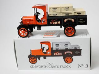 FRAM 1925 KENWORTH CRATE TRUCK BANK 7