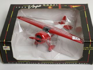 1932 VEGA MODEl 5 AIRPlANE BANK