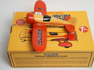 CASE VINTAGE AIRPlANE BANK
