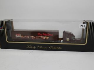 TIM HORTONS C120 FREIGHTlINER TRUCK AND TRAIlER