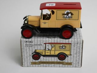 CASE 1923 CHEVY TRUCK BANK 1 25 ERTl