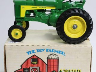 JOHN DEERE 630 lP TRACTOR 1988 THE TOY FARMER ERTl