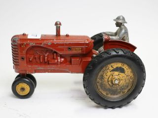 MASSEY HARRIS 44 TRACTOR WITH MAN 1 16 CAST