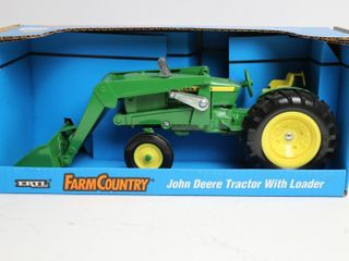 JOHN DEERE TRACTOR WITH lOADER ERTl 1 16