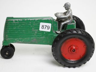 SlIK AlUMINUM TRACTOR AND MAN 1 16