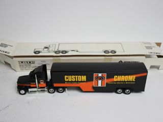 CUSTOM CHROME TRUCK AND TRAIlER 13  ERTl