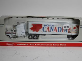 MOlSON CANADIAN PETERBIlT 379 SEMI BANK 1 64