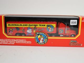 MCDONAlDlAND RACING TEAM TRANSPORTER 1 64
