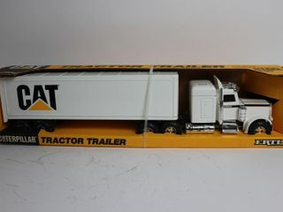 CAT TRUCK AND TRAIlER 1 25 ERTl