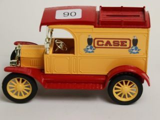 CASE 1913 MODEl T VAN BANK