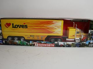 lOVERS KENWORTH TRUCK AND TRAIlER 1 32 NEW RAY