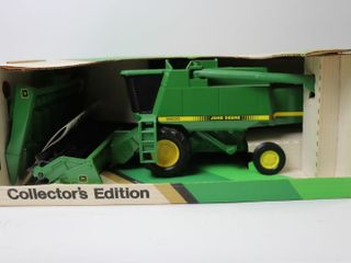 JOHN DEERE 9600 COMBINE AND HEADS SPECIAl EDITON
