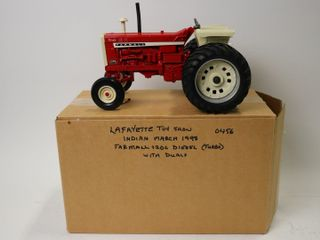 FARMAll 1206 TURBO TRACTOR WITH DUAlS 1998