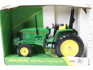 JOHN DEERE 6200 OPEN STATION ROW CROP TRACTOR ERTl