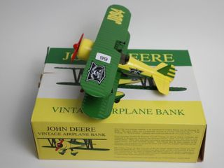 JOHN DEERE JD94 AIRPlANE BANK