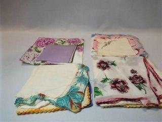 Handkerchiefs  12
