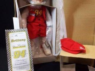 1997 Bill Elliot  Brittany  Doll  in box