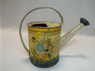 Ohio Art Co Tin Watering Can