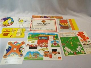 McDonald s Paper Items  Canada  8