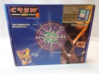 2001 McDonald s Millionaire Crew Kit