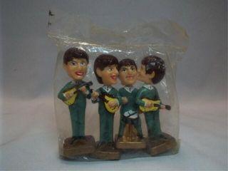 Beatles Bobble Head Figures in Package