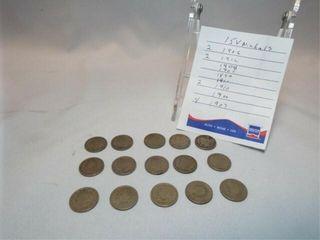 liberty Head Nickels  15