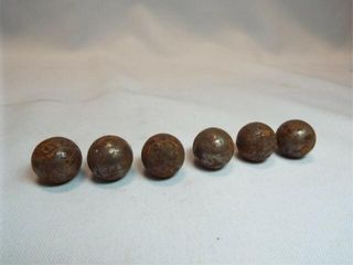 Civil War Cannon Balls  6