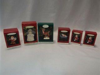 Hallmark Ornaments  6  in box