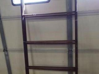 Wood Folding linen Drying Rack  Wheels