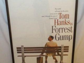 Forrest Gump Movie Poster  Framed