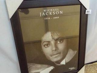 Michael Jackson Poster  Framed