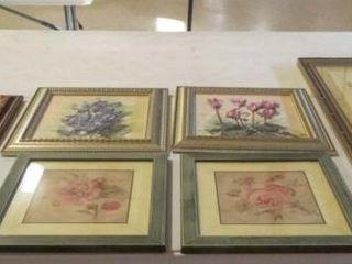 Floral Art  Framed   Variety  6