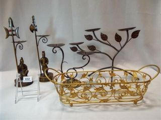 Metal Candleholders  Basket  5
